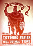 Concours : 3x2 places à gagner pour Totorro + Papier Tigre + Will Guthrie