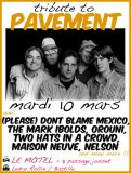 Tribute live to Pavement